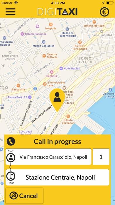 DigiTaxi The Taxi App screenshot one