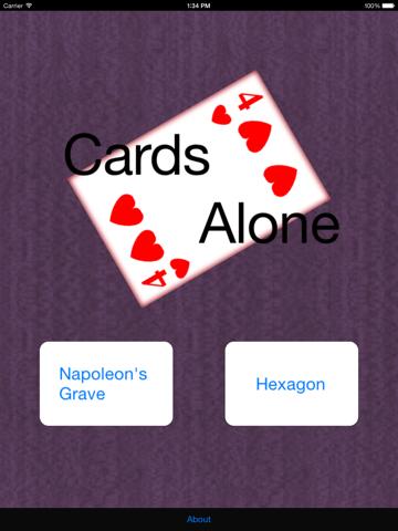 CardsAlone - náhled
