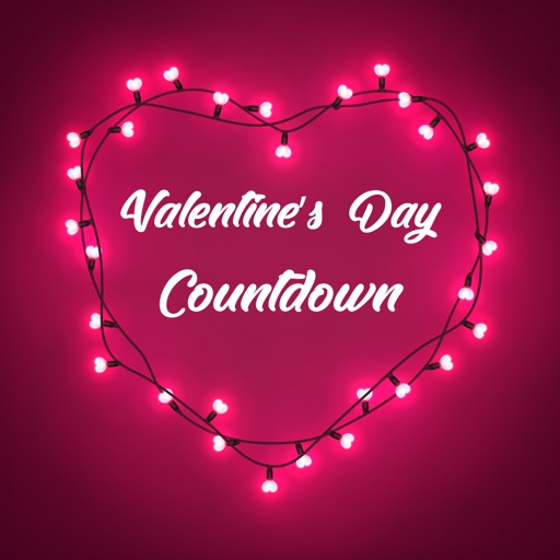 Countdown to Valentine's Day iOS App
