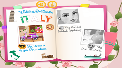 Wedding Game destination italy screenshot two