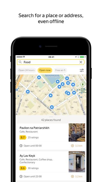 Yandex.Maps — Navigation & Transit screenshot-0