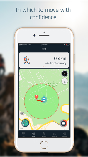 Navstar - GPS & Map for Hikers Screenshot