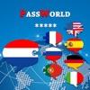 PassWorld – De Gesprekken gids voor op reis - Nederlands/Engels (alsmede Duits, Frans, Spaans, Italiaans, Portugees, Russisch)
