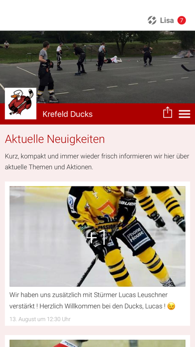 Krefeld Ducks screenshot 1