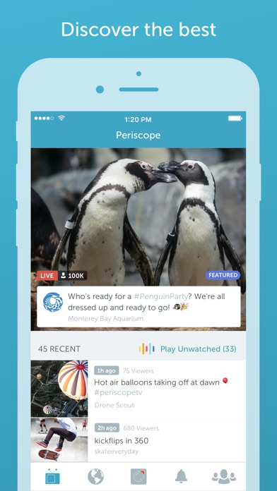 Periscope Live Video Streaming for Windows