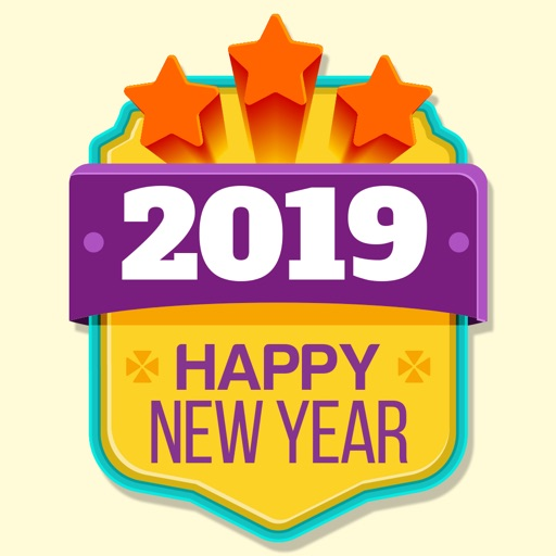 Happy New Year Wishes Stickers