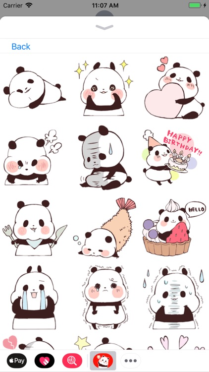 Panda Stickers Collection screenshot-5