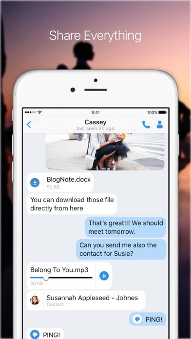 KingsChat screenshot four