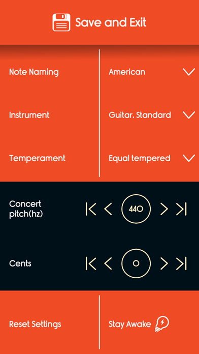Guitar Tuner Master screenshot three