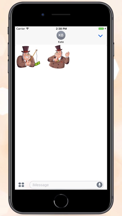 Screenshot for Mr.Capitalist Stickers in Colombia App Store