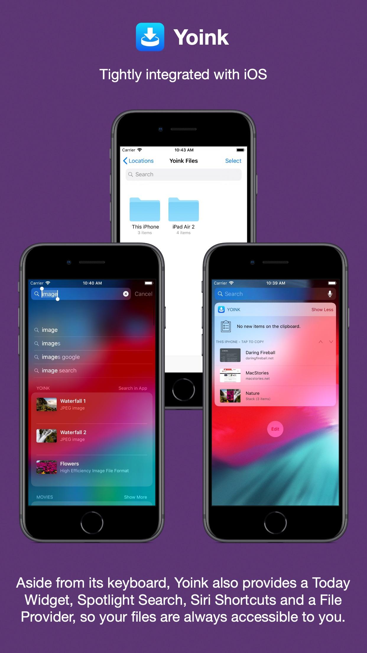 Screenshot do app Yoink - Improved Drag and Drop
