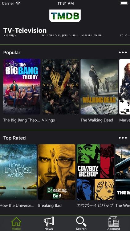 TMDb Movies & TV Shows