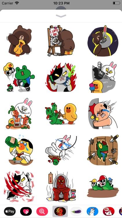 Bob the Weirdo Emoji Stickers