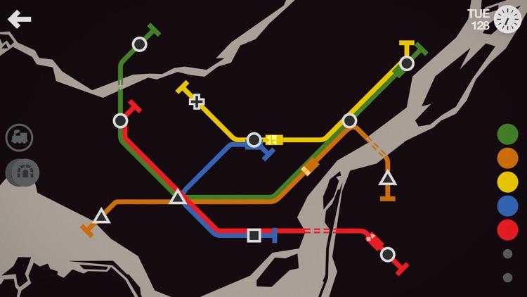 Mini Metro screenshot-4