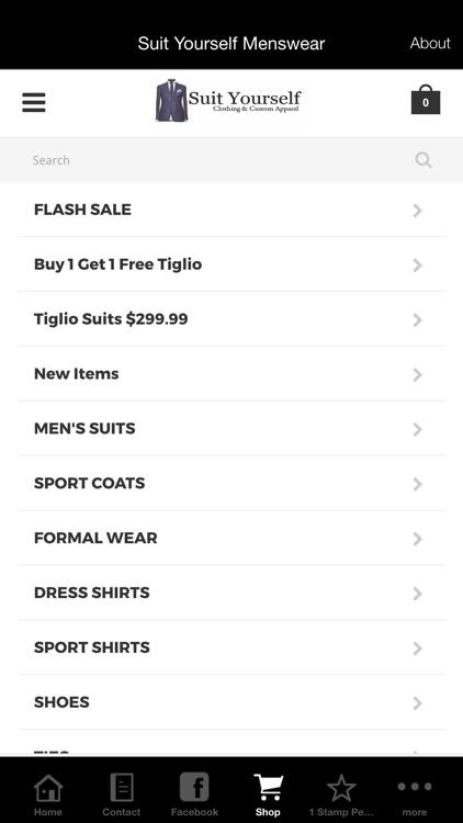 Suit Yourself Menswear
