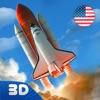 USA Space Force Rocket Flight