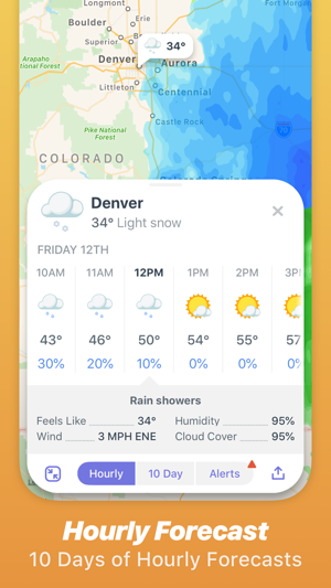 Weather Up ▴ Live Weather Maps on the App Store