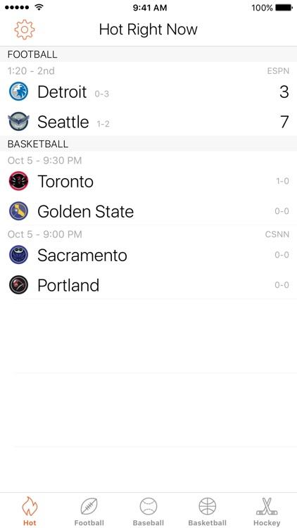 Scores | Fast Sport Scoreboard