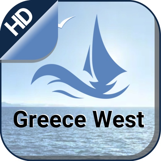 Western Greece Nautical Charts