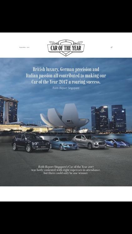 Robb Report Singapore screenshot-4