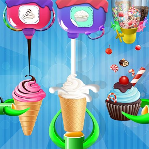 Ice Cream Cone Cupcake Factory
