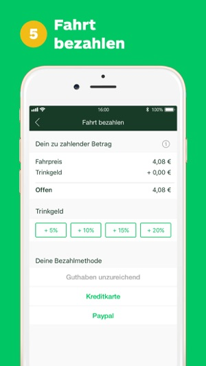 CleverShuttle: Dein Fahrdienst Screenshot