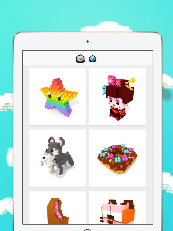 Voxel - 3D Color by Number screenshot 7