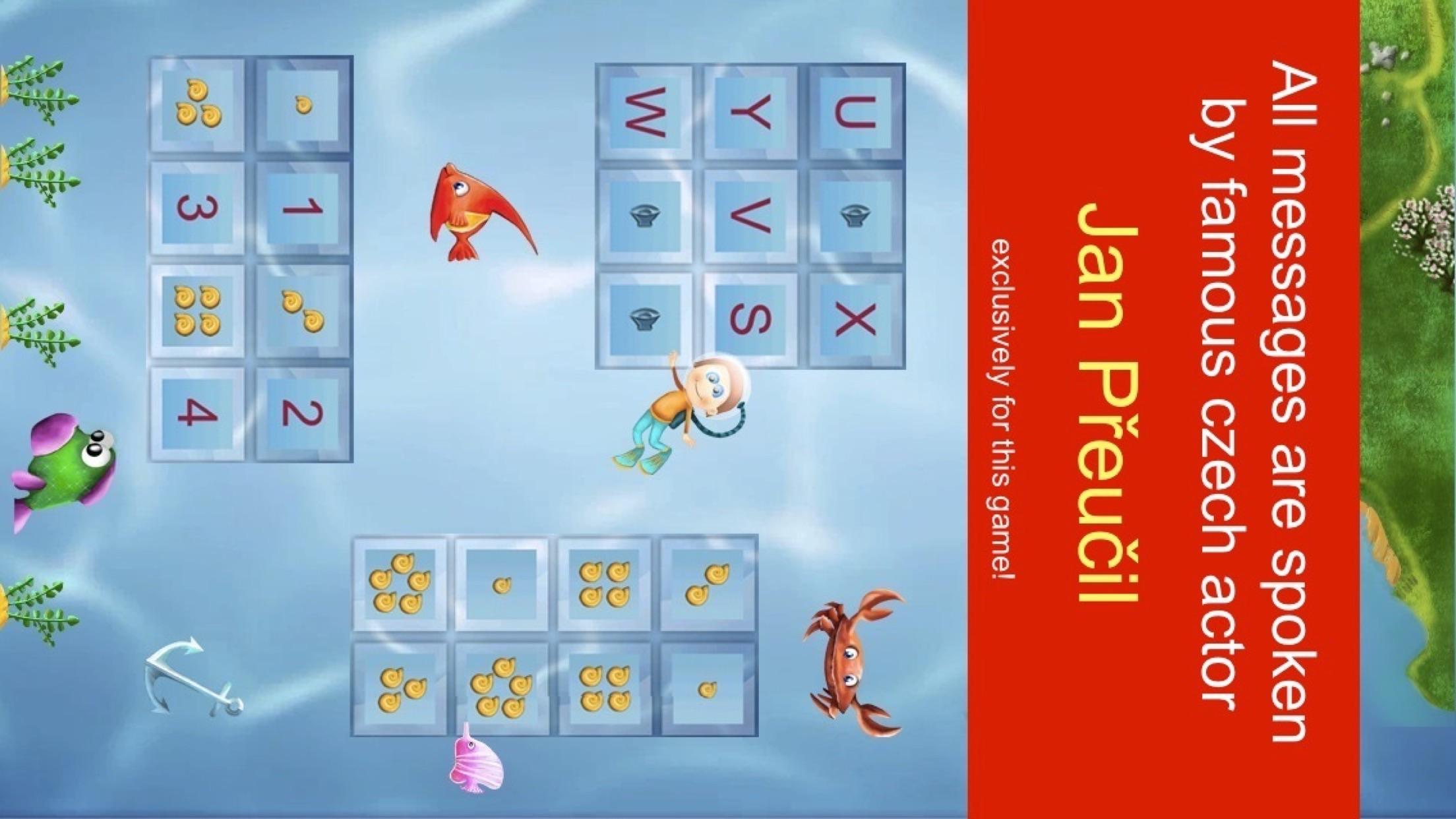 Czech Alphabet 4 school children & preschoolers Screenshot