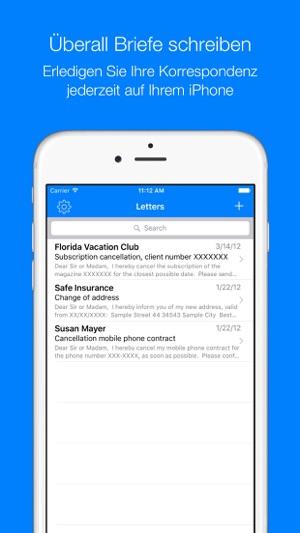 Briefe Im App Store