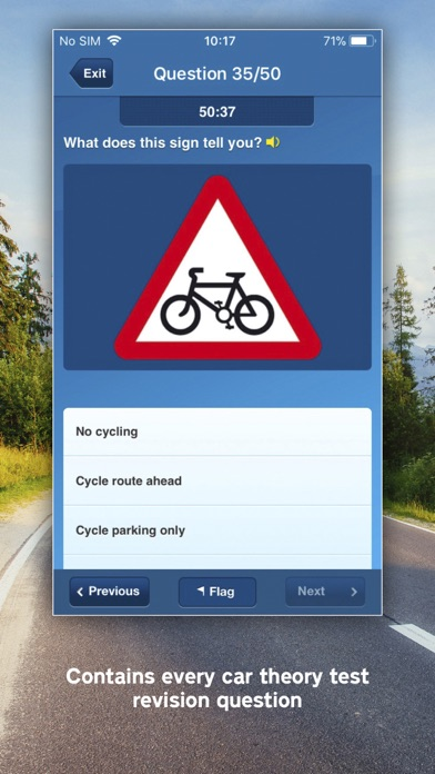 Screenshot for Official DVSA Theory Test Kit in France App Store