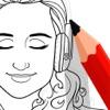 Drawfy: Dot to Dot Coloring!