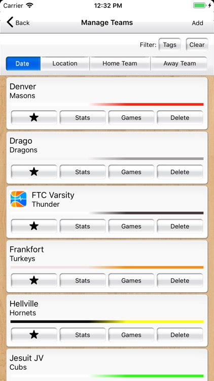 Basketball Stat Tracker Live screenshot-7