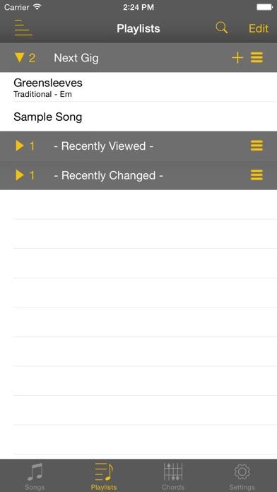 Songbook Chordpro review screenshots