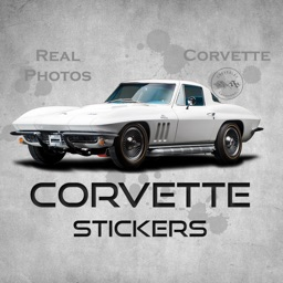 Classic Corvette Stickers