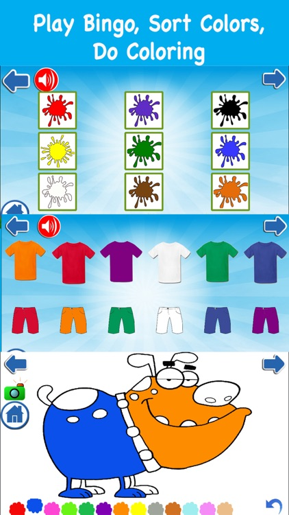 PreK ABC 123 Color Shape Games