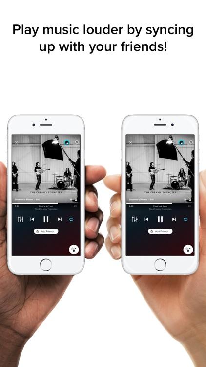 AmpMe - Play Music Louder screenshot-0