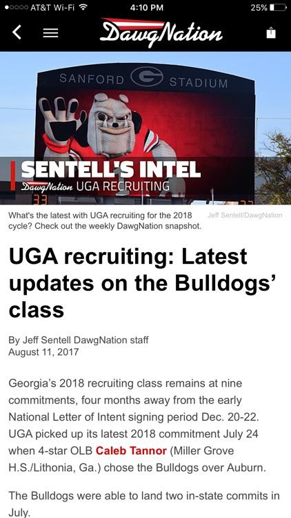 DawgNation - Georgia Bulldogs screenshot-3