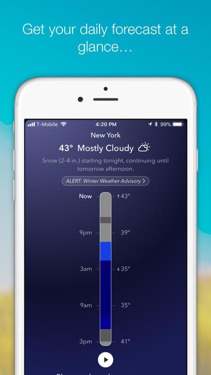 WeatherTunes Music screenshot-0