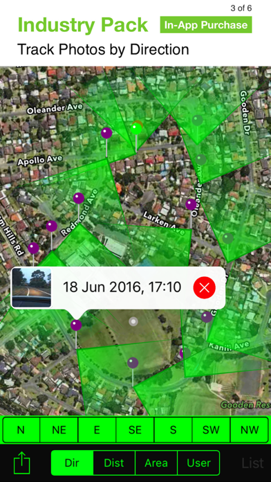 Solocator - GPS Field Camera Screenshot