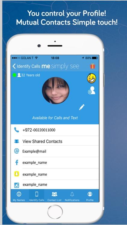 Me - Caller ID Spam Protection screenshot-3
