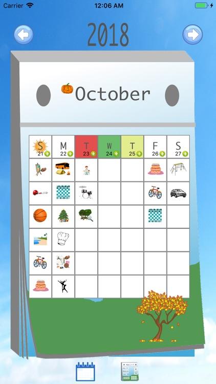 Kids' Calendar screenshot-3