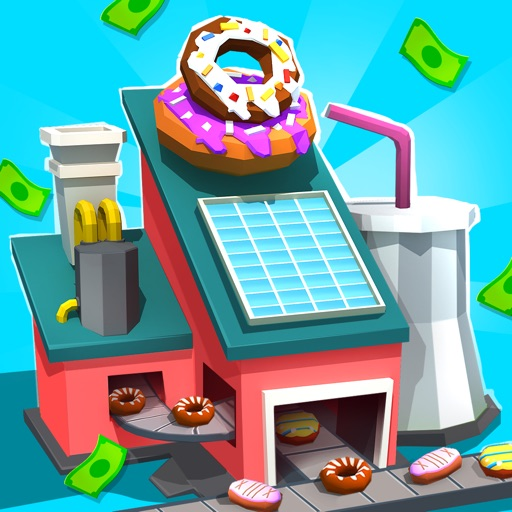 Donut City Tycoon free software for iPhone and iPad