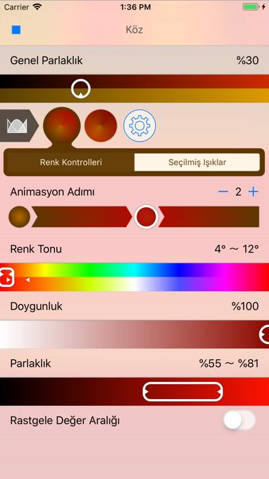 Lightbow iphone ekran görüntüleri