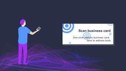Screenshot #1 for business card scanner-sam pro