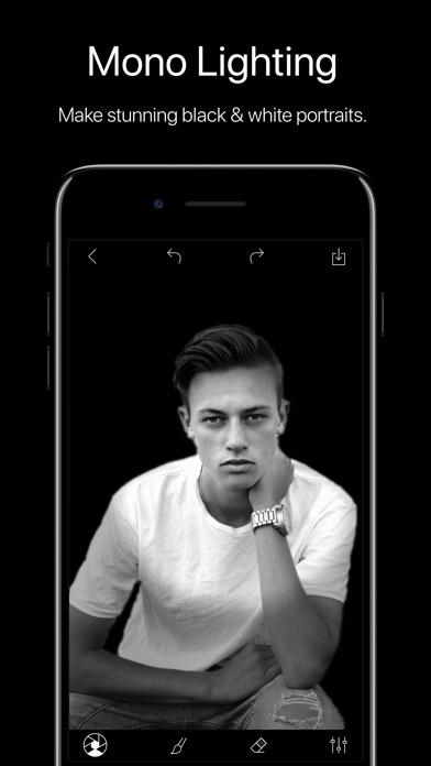 Screenshot #3 for Phocus: Portrait mode editor