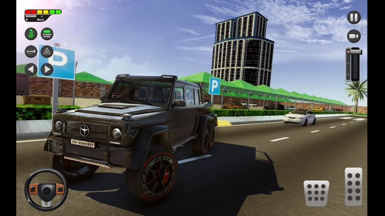 City Car Driving School Sim 3D screenshot-4