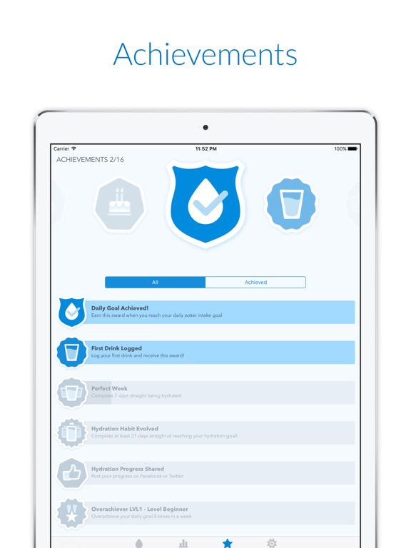 WaterMinder® Screenshots