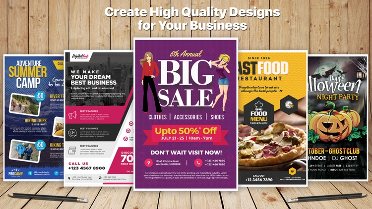 Design & Flyer Creator Pro screenshot-1