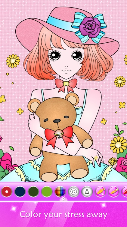 Princess Coloring Book Show screenshot-1