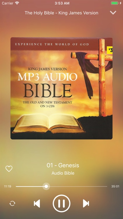 KJV Audio Bible.